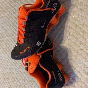 Denver Broncos Nike Shox